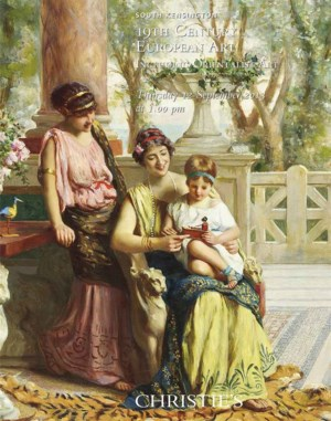 19th Century European Art Incl auction at Christies