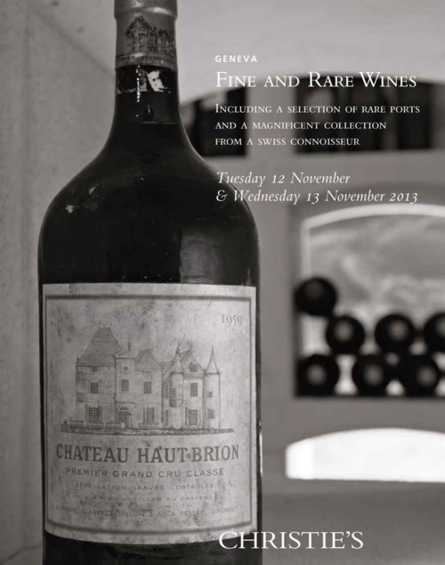 Fine Wines, a Selection of Rare Ports and a Magnificent Collection from a Swiss Connoisseur