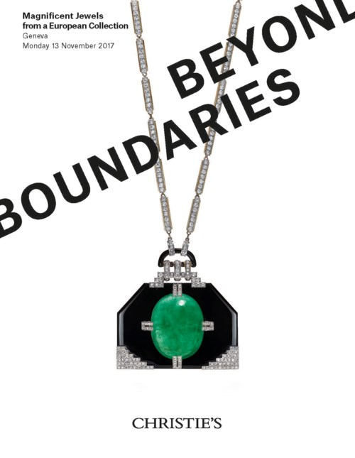 Beyond Boundaries: Magnificent Jewels from a European Collection