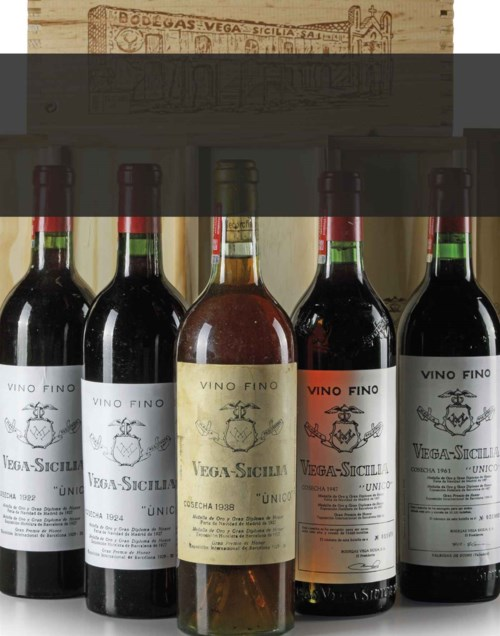Fine and Rare Wines featuring Cellar Selections of Vega Sicilia