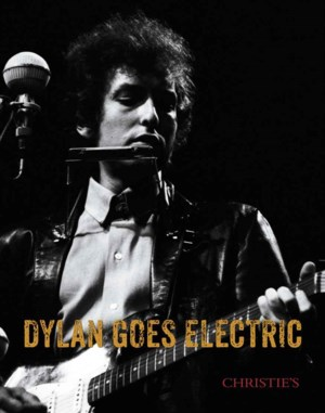 Dylan Goes Electric auction at Christies