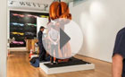 Jeff Koons' Balloon Dog (Orang auction at Christies
