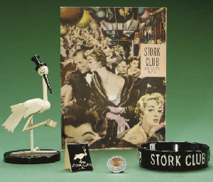 Stork Club Mementos 1957 Christie S