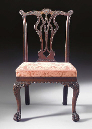 The general john cadwalader chippendale carved mahogany for Furniture r us philadelphia