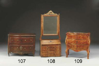 Ribalta con specchio a bilico in miniatura in vari legni for Lots specchio
