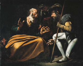 the denial of st peter by caravaggio essay The denial of saint peter (la negazione di pietro) is a painting finished around 1610 by the italian painter caravaggioit depicts peter denying jesus after jesus was arrested.