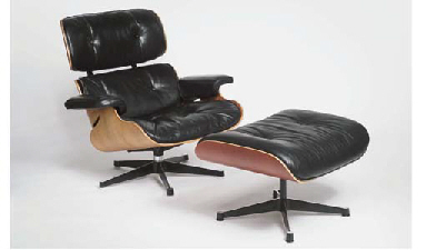 Charles and ray eames pour vitra et mobilier international for Mobilier international eames