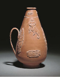 A Roman North African Red Slip Ware Flask Mid 3rd
