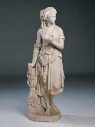 A VICTORIAN WHITE MARBLE STATUE OF RUTH | Christie's