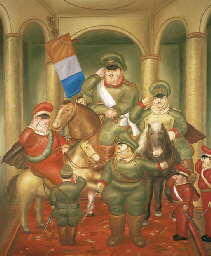 fernando botero essay example Fernando botero angulo  ↑ botero, fernando,  the body in pain this essay by arthur danto at the nation about botero's abu ghraib series, .