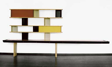 Charlotte perriand et jean prouv biblioth que mod le 39 tunisie 39 1 - Etagere charlotte perriand ...