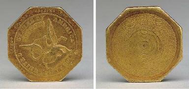 1851 Augustus Humbert U S Assayer Of Gold California