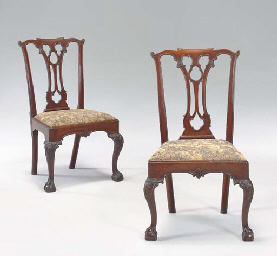 the chippendale chair essay A chippendale elaborately carved mahogany side chair  carving attributed to nicholas bernard (d 1789), philadelphia,  circa.