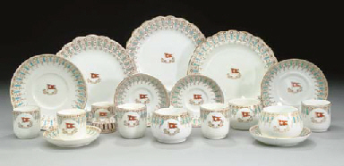 A Group Of China For The White Star Line Stonier Amp Co