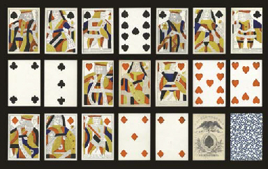 Humphrey S Deck Circa 1816 Philadelphia James Y Humphrey 52 Of 52 Cards Humphrey Imported