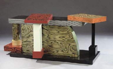 Ettore sottsass for memphis milano designed 1985 a for Memphis milano