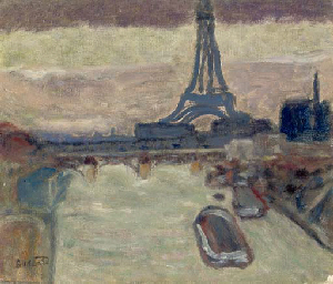 """an analysis on robert delaunay s eiffel The more delaunay painted the eiffel tower, the more abstracted it became according to mark roesenthal, author of visions of paris: robert delaunay's series, by the time delaunay painted the monument in 1924, the artist had """"studied it from above, and below, inside and out, from near and far, by day and by night."""