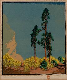 Gustave Baumann Three Pines Christie S
