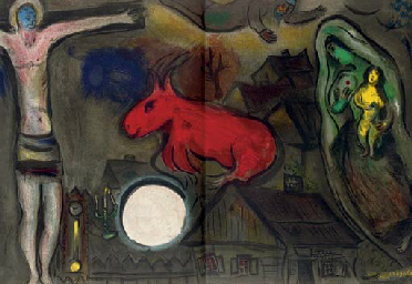 Marc chagall derri re le miroir four issues paris for Maeght derriere le miroir