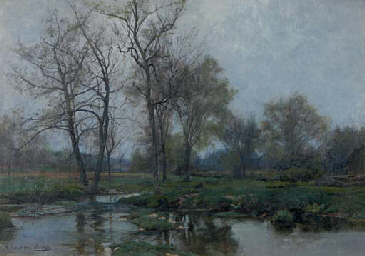 Hugh Bolton Jones American 1848 1927 Early Spring