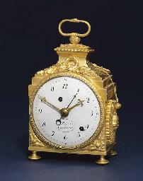 a swiss ormolu quarter striking eight day pendule d 39 officier with alarm robert courvoisier. Black Bedroom Furniture Sets. Home Design Ideas