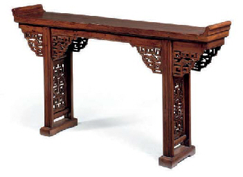 A CHINESE ELM ALTAR TABLE   LATE 19TH/EARLY 20TH CENTURY   Furniture U0026  Lighting, Wood   Christieu0027s