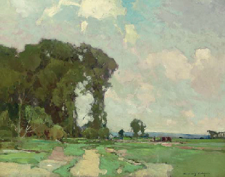 Canvas Santa Fe >> Chauncey Foster Ryder (1868-1949) , A Summer Day | Christie's