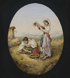 the gleaners painting essay