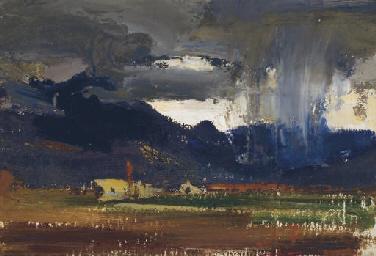 Canvas Santa Fe >> Nicolai Fechin (1881-1955) , Storm Lights   Christie's