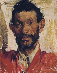 Nicolai fechin 1881 1955 portrait of a man christie 39 s for Nicolai fechin paintings for sale