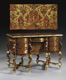 a louis xiv ebony brass and red tortoiseshell boulle. Black Bedroom Furniture Sets. Home Design Ideas