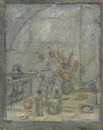 Alberto Giacometti (1901-1966) , Nature morte aux fleurs | Christie's
