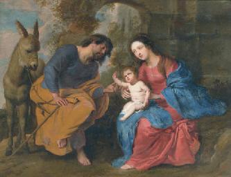 Erasmus Quellinus Ii Antwerp 1607 1678 The Rest On The