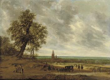 Salomon Van Ruysdael Naarden 1600 1670 Haarlem A