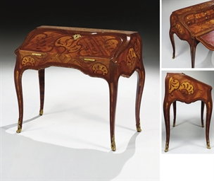bureau dos d 39 ane d 39 epoque louis xv attribue a bernard van risenburgh christie 39 s. Black Bedroom Furniture Sets. Home Design Ideas