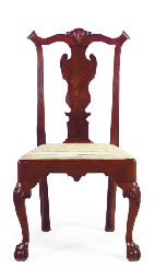 A chippendale walnut side chair philadelphia circa 1770 for Furniture r us philadelphia