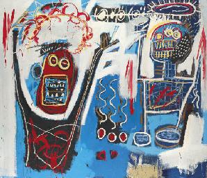 Jean Michel Basquiat 1960 1988 Palm Springs Jump