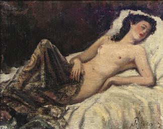 era reclining nudes Victorian