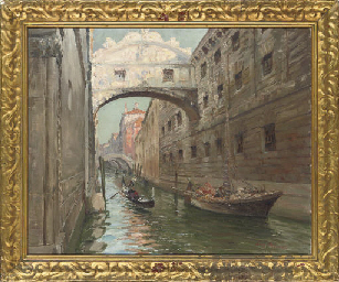 Luigi Moretti Italian B 1884 The Bridge Of Sighs