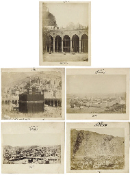 MUHAMMAD SADIQ BEY (1832-1902) , THE HOLY CITIES OF MECCA ...