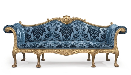 A GEORGE III GILTWOOD SOFA | DESIGNED BY ROBERT ADAM AND MADE BY THOMAS  CHIPPENDALE, 1765 | 18th Century, Sofa | Christieu0027s