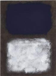Mark Rothko 1903 1970 Black White Blue Christie S