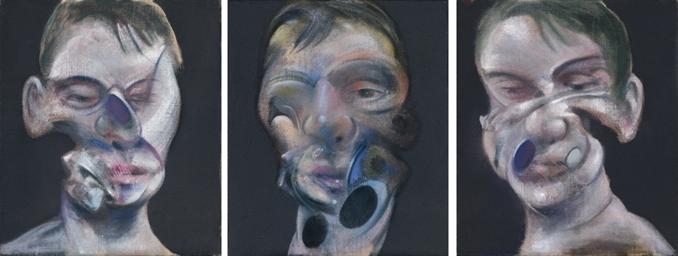 Francis Bacon (1909-1992) | Three Studies for Self-Portrait ...