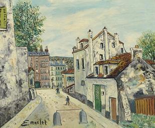 Elisee maclet 1881 1962 rue de montmartre christie 39 s for 51090 text