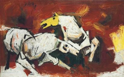 Artist Maqbool Fida Husain, 95, dies in London