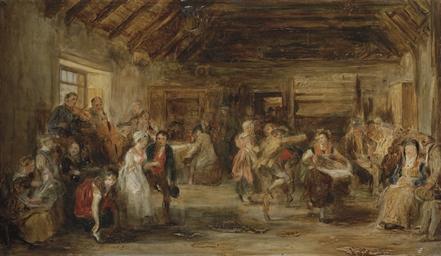 Sir David Wilkie R A 1785 1841 The Penny Wedding A
