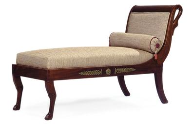 meridienne de style empire christie 39 s. Black Bedroom Furniture Sets. Home Design Ideas