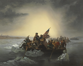 george washington crossing the delaware essay Washington crossing the delaware painting interactive  background essay  popular understandings of george washington focused on his role as.