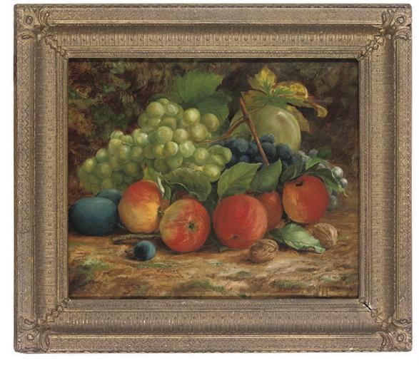 fruits sculptés noël