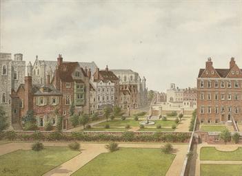 D R on Kensington Palace London